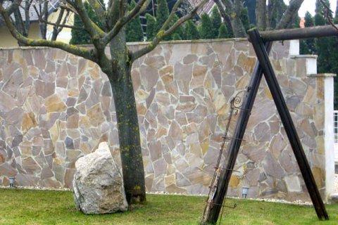 Referenz Gindl Schalsteinmauer