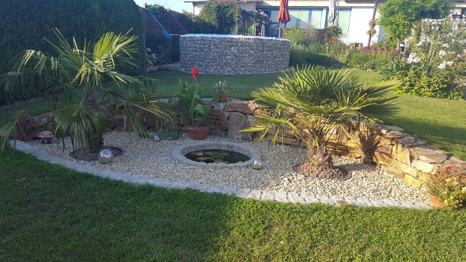 steine garten beet - Gartenabgrenzungen Aus Stein