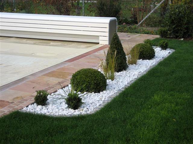 steinarbeiten - garten - wasser - stein, Gartenarbeit ideen